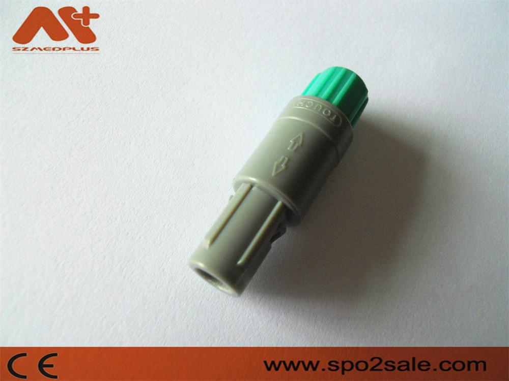 8针80度塑料头推拉自锁连接器 1