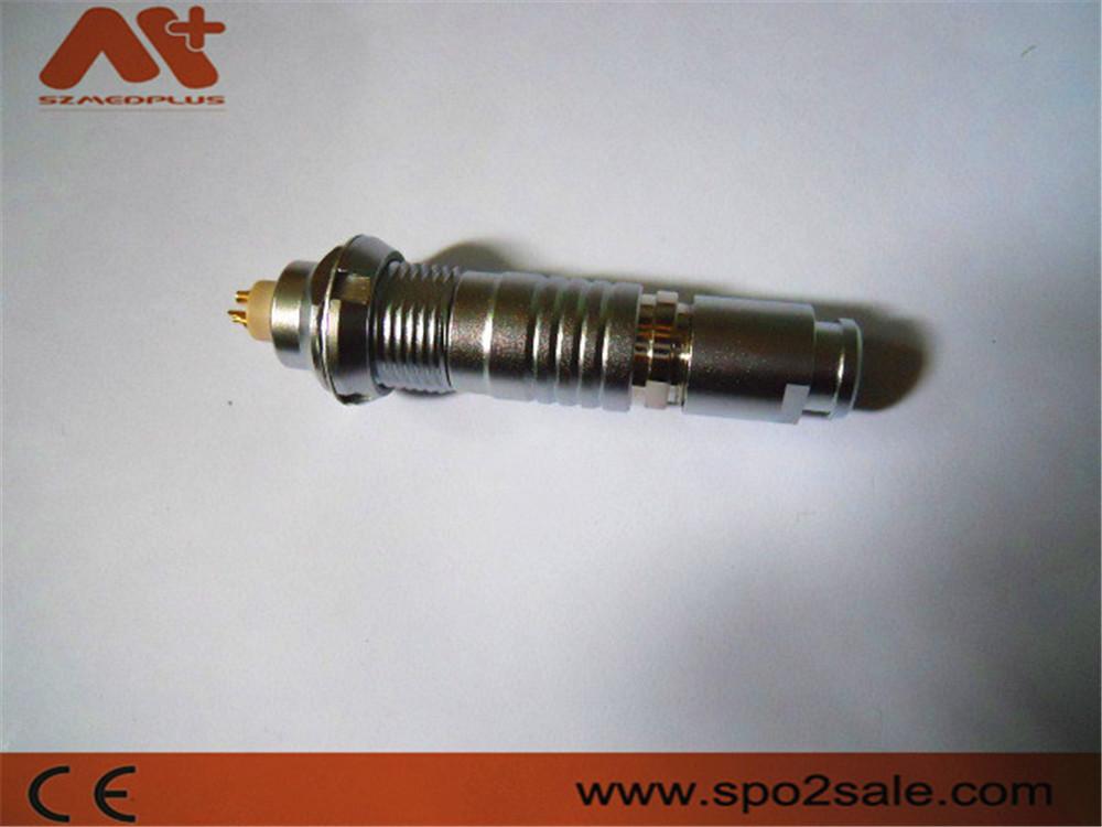 2针圆形电线插头推拉式连接器兼容B系列FGG插头 3