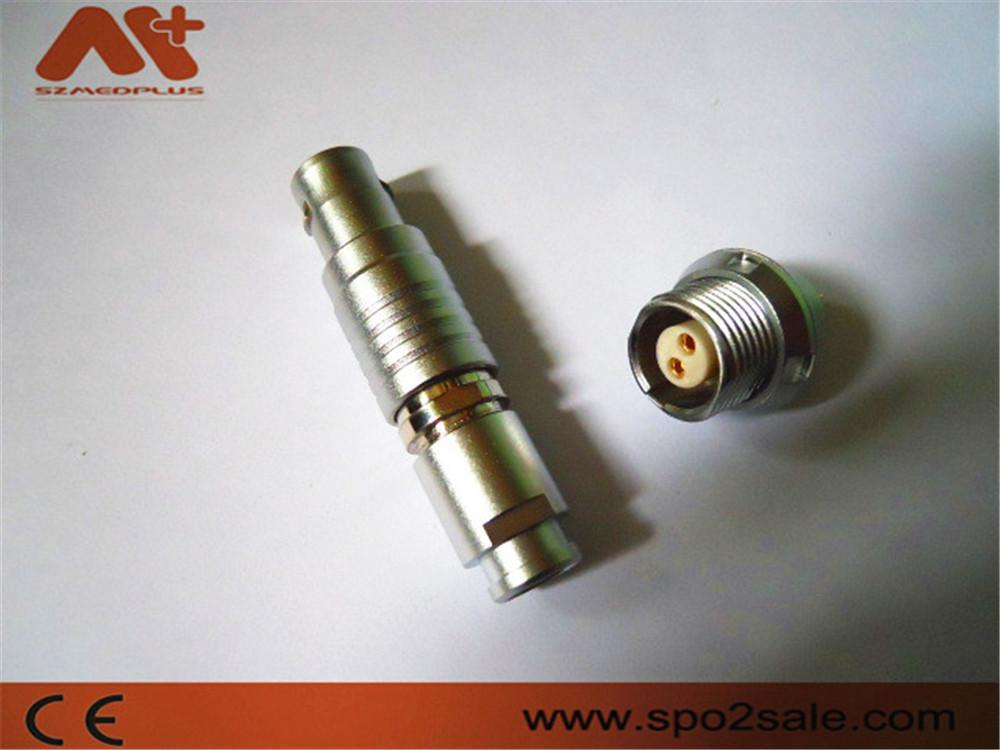 2针圆形电线插头推拉式连接器兼容B系列FGG插头 4