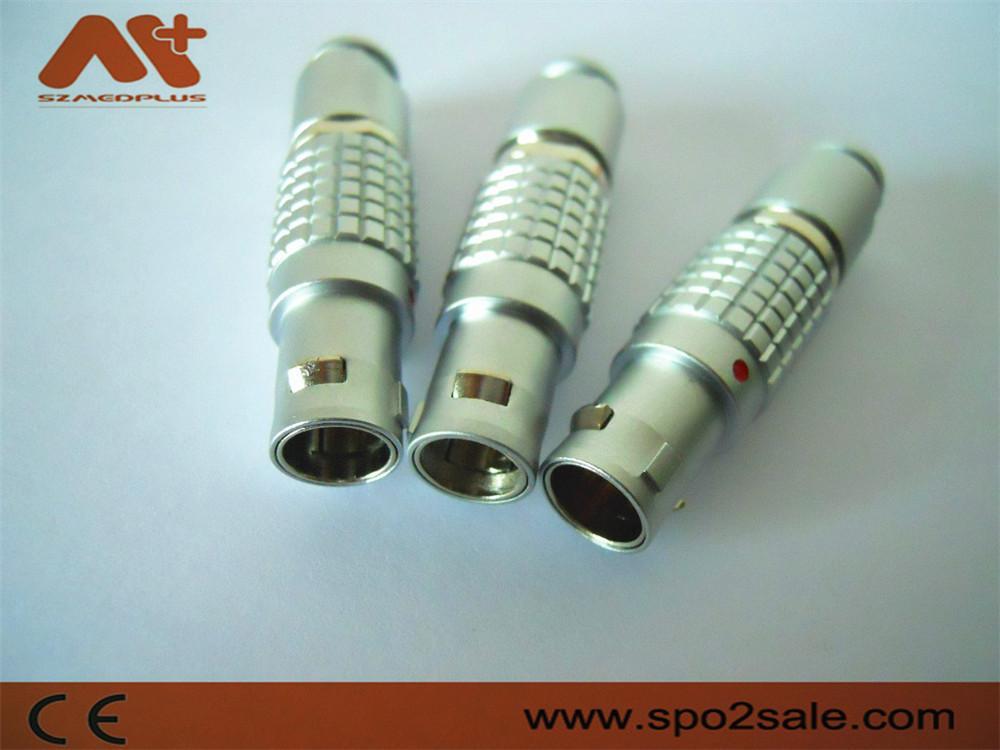 金屬圓形推拉式連接器兼容FGG6針插頭 3