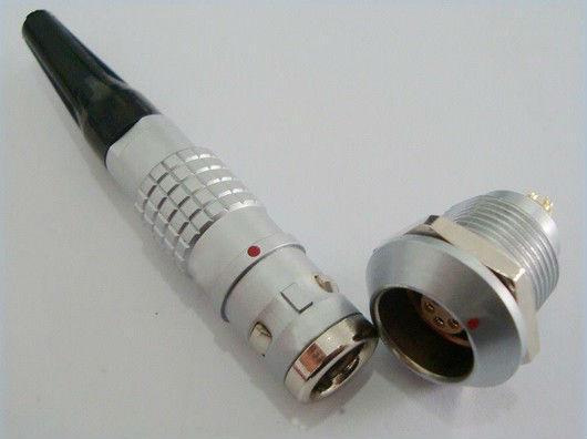 金屬圓形推拉自鎖連接器兼容K系列FGG插頭 1