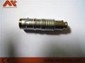 金属圆形推拉自锁连接器兼容K系列FGG插头 2