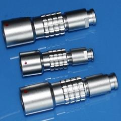 金属推拉自锁连接器兼容K系列PHG插座