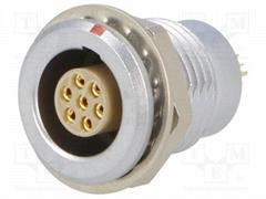 金屬推拉自鎖連接器母頭兼容EGG插座