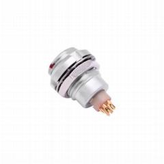 金屬推拉自鎖連接器兼容ECG插座