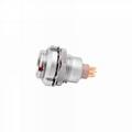 金屬推拉自鎖連接器兼容ECG插座 4
