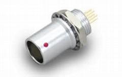 金屬推拉自鎖連接器母頭兼容EHG插座