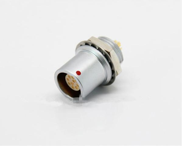金屬推拉自鎖連接器母頭兼容EHG插座 2