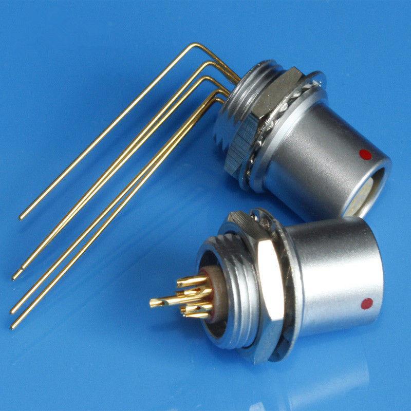 金属推拉自锁连接器母头兼容EHG插座 4