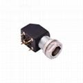 金屬推拉自鎖連接器兼容EXG母頭插頭