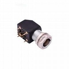 金属推拉自锁连接器兼容EXG母头插头