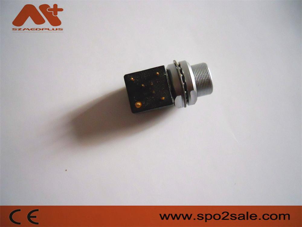 金属推拉自锁连接器兼容EXG母头插头 4