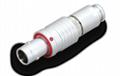 金属推拉自锁连接器兼容FEG插头 4