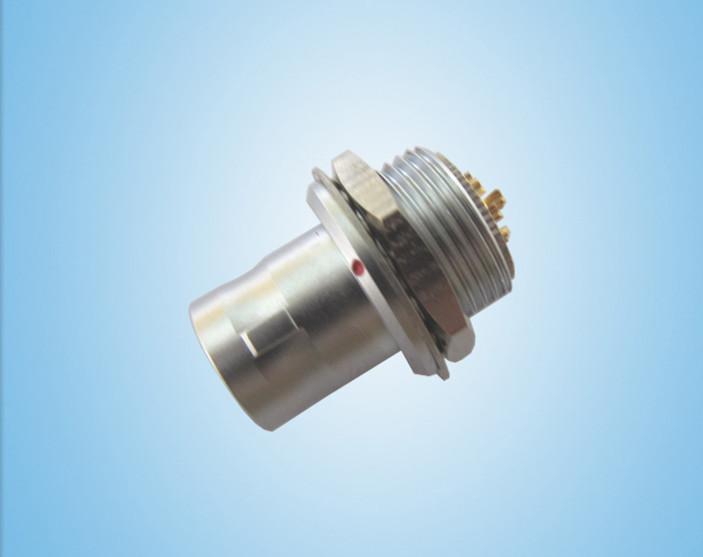 金属推拉自锁连接器兼容FAG插头 1