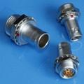 金属推拉自锁连接器兼容FAG插头 2