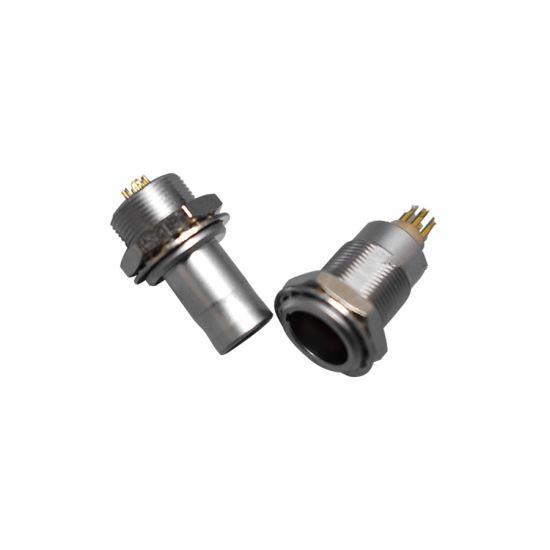 金属推拉自锁连接器兼容FAG插头 3