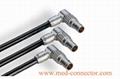 金屬推拉自鎖連接器彎頭(90°)-兼容FPG插頭 2