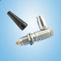 金屬彎頭推拉自鎖連接器兼容FHG插頭 2