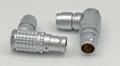 金屬彎頭推拉自鎖連接器兼容FHG插頭 4