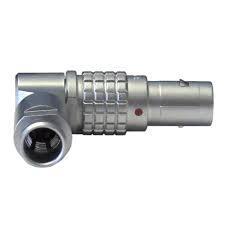 金属弯头推拉自锁连接器兼容FSG插头 1