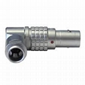 金属弯头推拉自锁连接器兼容FS