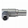 金屬彎頭推拉自鎖連接器兼容FS