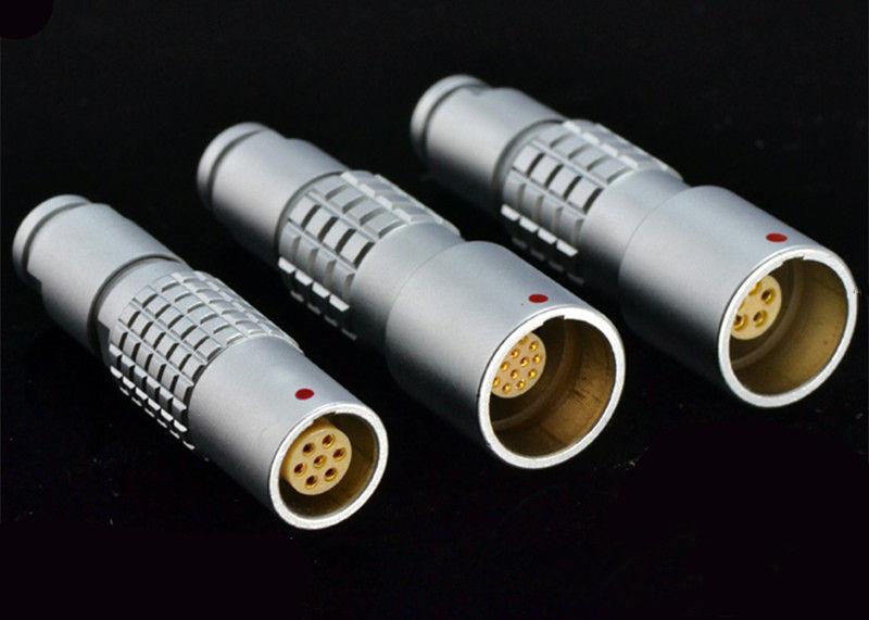 金属推拉自锁连接器兼容K系列PHG插座 4