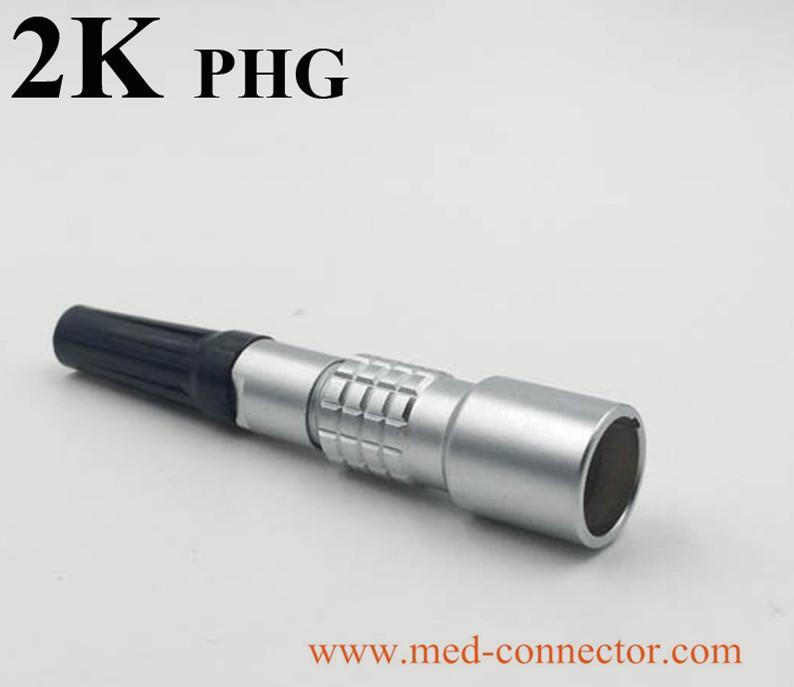 金属推拉自锁连接器兼容K系列PHG插座 5