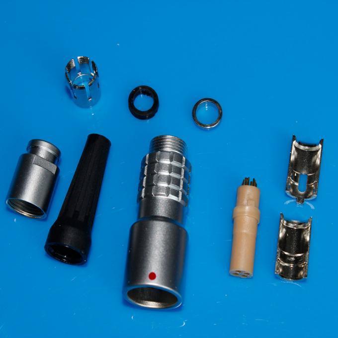 金属推拉自锁连接器兼容K系列PHG插座 2