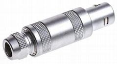 金属推拉自锁连接器兼容S系列FFA插头