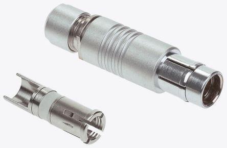 金属推拉自锁连接器兼容F系列连接器 4