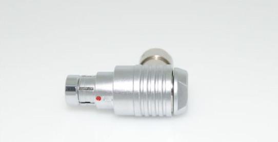 金属推拉自锁连接器兼容F系列弯头90°插头 1