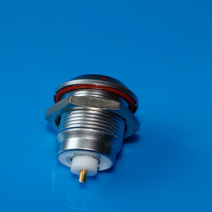 金属推拉自锁连接器同轴连接器兼容ERA插座 1