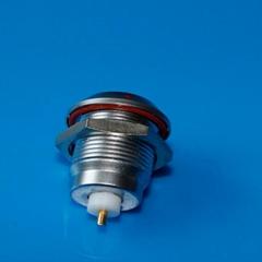 金属推拉自锁连接器同轴连接器兼容ERA插座