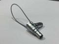 弯头金属插头FMG推拉自锁连接器