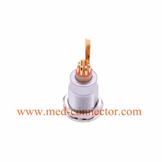 金屬插座兼容ENG推拉自鎖連接器 1