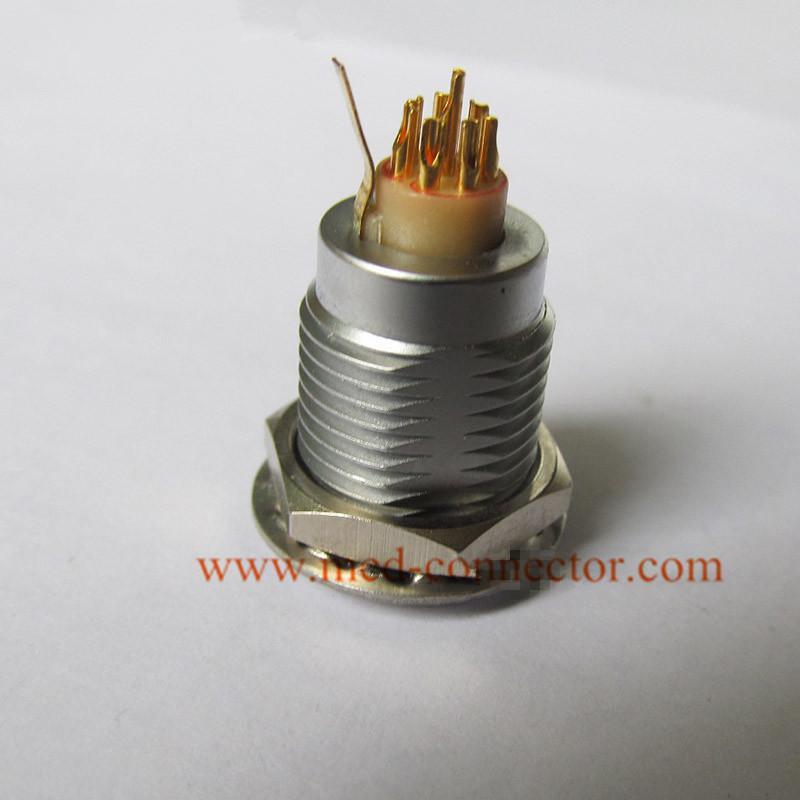 金屬插座兼容ENG推拉自鎖連接器 3