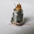 金属插座兼容ENG推拉自锁连接器 3