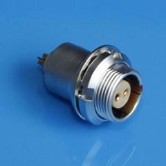 金属插座兼容EFG推拉自锁连接器