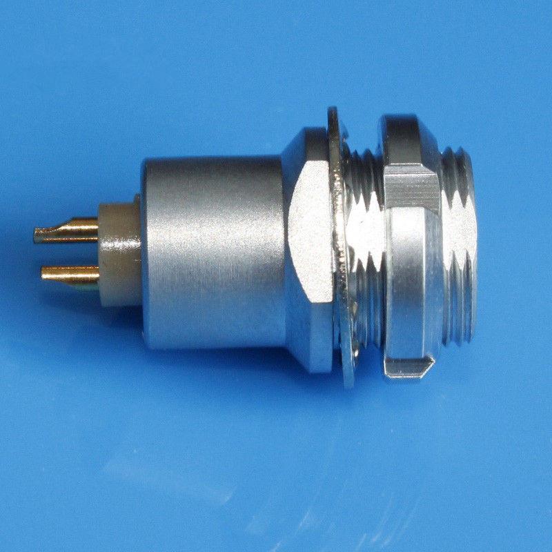 金属插座兼容EFG推拉自锁连接器 2