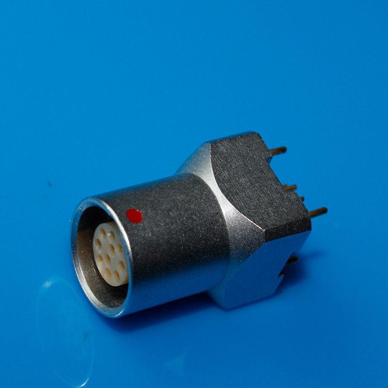 金属插座兼容EZG推拉自锁连接器