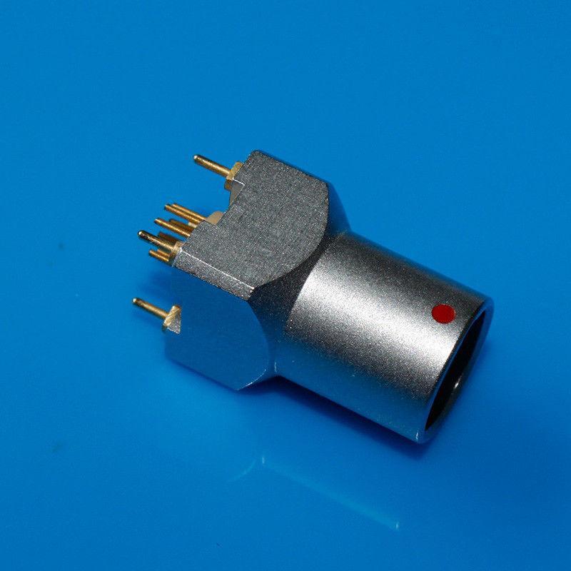 金属插座兼容EZG推拉自锁连接器 2