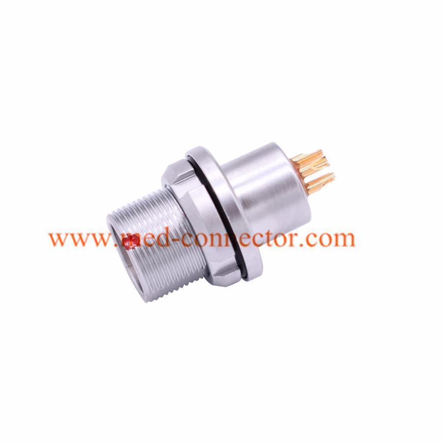 金属插头兼容HEG插座推拉自锁连接器 1