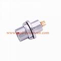 金屬插頭兼容HEG插座推拉自鎖連接器 1