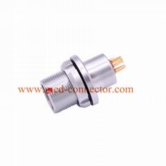 金屬插頭兼容HEG插座推拉自鎖連接器