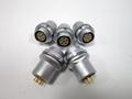 金屬插頭兼容HEG插座推拉自鎖連接器 5