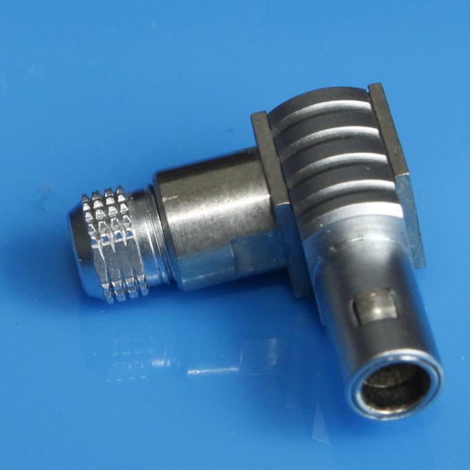 金屬推拉自鎖連接器-兼容S系列FLA彎頭90°插頭 1