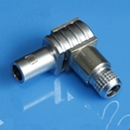 金屬推拉自鎖連接器-兼容S系列FLA彎頭90°插頭 2