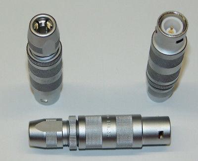 金属插座-兼容FFB插头推拉自锁连接器 3
