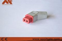 兼容日本光電無創血壓連接器機器端插頭